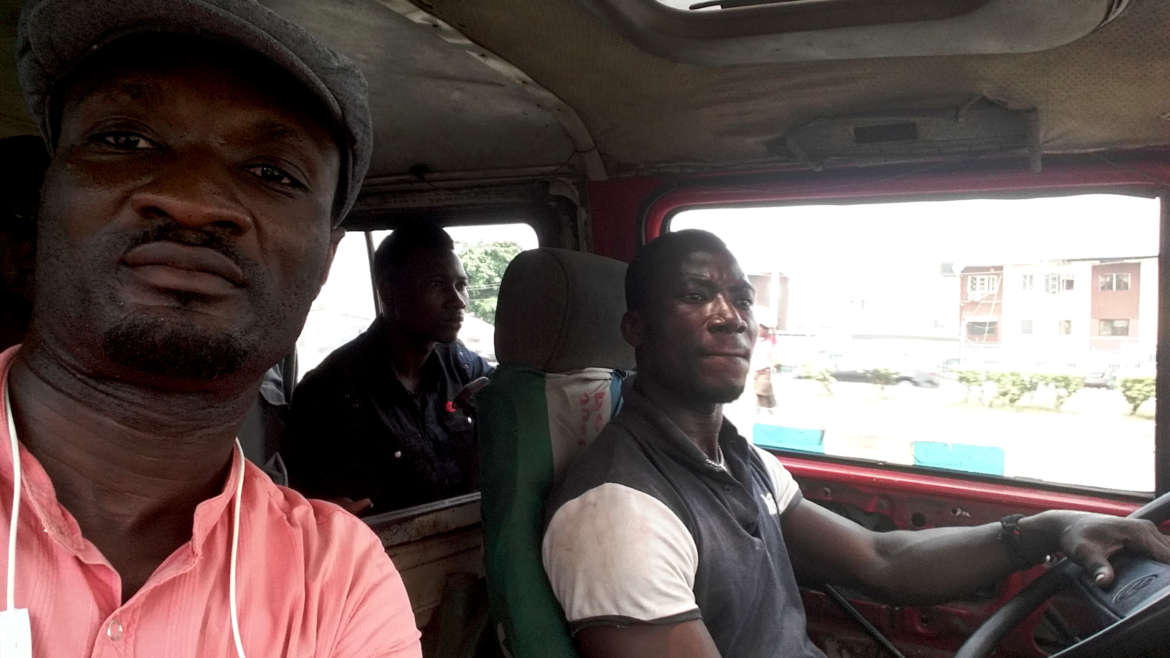 Meet Arafat, The Danfo Driver With One Leg